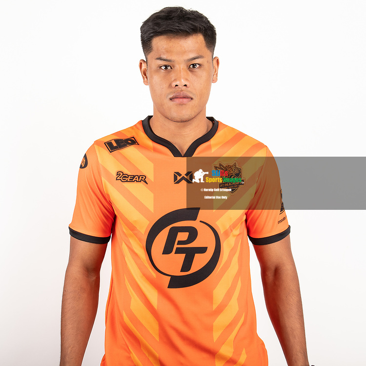 THAILAND - JUNE 24: Siroch Chatthong #35 of PT Prachuap FC on June 24, 2019.<br /> .<br /> .<br /> .<br /> (Photo by: Naratip Golf Srisupab/SEALs Sports Images/MB Media Solutions)