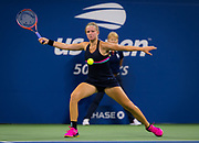 Karolina Muchova of the Czech Republic in action during her second round match at the 2018 US Open Grand Slam tennis tournament, at Billie Jean King National Tennis Center in Flushing Meadow, New York, USA, August 29th 2018, Photo Rob Prange / SpainProSportsImages / DPPI / ProSportsImages / DPPI