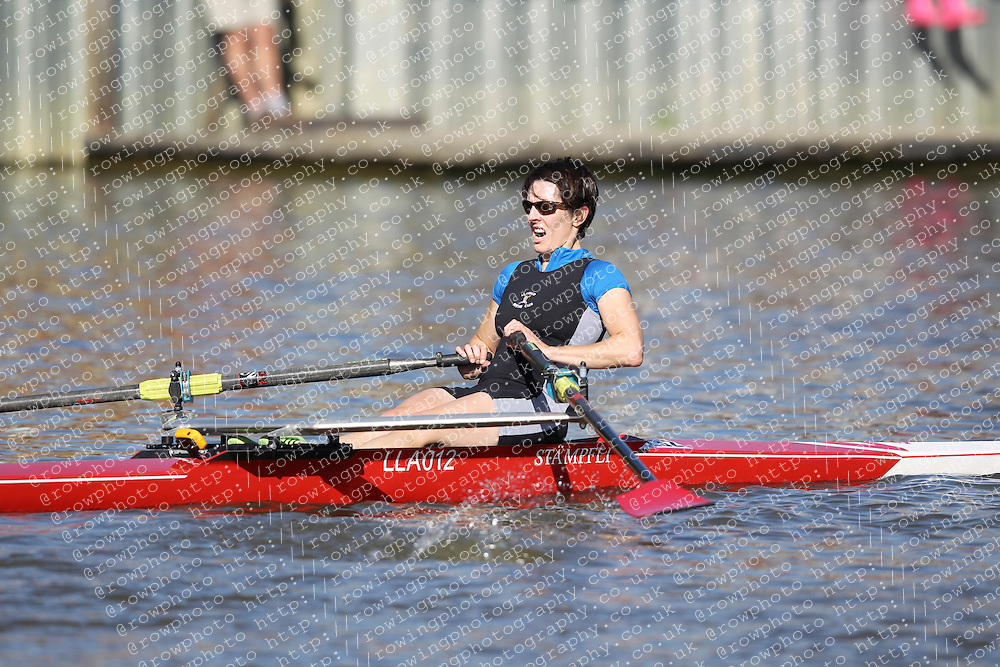 29.09.2012. Wallingford Long Distance Sculls 2012, The River Thames. Division 1. W.IM2 1x. Swansea City Boat Club, Evans.