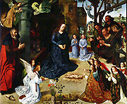 Hugo van der Goes  The Portinari triptych (middle panel) 1476-78