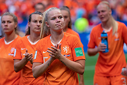 07-07-2019 FRA: Final USA - Netherlands, Lyon<br /> FIFA Women's World Cup France final match between United States of America and Netherlands at Parc Olympique Lyonnais. USA won 2-0 / Kika van Es #5 of the Netherlands