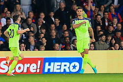 Goal, Dejan Lovren of Liverpool scores, Crystal Palace 1-2 Liverpool - Mandatory by-line: Jason Brown/JMP - 29/10/2016 - FOOTBALL - Selhurst Park - London, England - Crystal Palace v Liverpool - Premier League