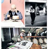 Tekst en beeld zijn auteursrechtelijk beschermd en het is dan ook verboden zonder toestemming van auteur, fotograaf en/of uitgever iets hiervan te publiceren <br /> <br /> Parool 21 september 2013: Johannes van Dam special (archiefbeeld)