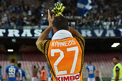September 15, 2018 - Naples, Naples, Italy - Orestis Karnezis of SSC Napoli during the Serie A TIM match between SSC Napoli and ACF Fiorentina at Stadio San Paolo Naples Italy on 15 September 2018. (Credit Image: © Franco Romano/NurPhoto/ZUMA Press)