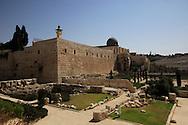 The Jesusalem Archaeological Park  (The Davidson Center) <br /> Photo by Dennis Brack