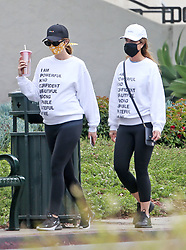EXCLUSIVE: Pregnant Katherine Schwarzenegger twins with mother Maria while out for a family hike with brother Patrick Schwarzenegger and his girlfriend Abbey Champion. Katherine was showing off her growing baby bump. 23 May 2020 Pictured: Pregnant Katherine Schwarzenegger twins with mother Maria while out for a family hike with brother Patric and his girlfriend Abbey Champion. Katherine was showing off her growing baby bump. Photo credit: MEGA TheMegaAgency.com +1 888 505 6342