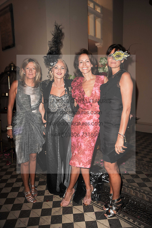 Left to right, PRINCESS CHANTAL OF HANOVER, AMANDA ELIASCH, ANDREA DELLAL and COUNTESS DEBONAIRE VON BISMARCK at 'Superficial Butterfly' a party hosted by Amanda Eliasch to celebrate her 50th birthday held at Number One Mayfair (St Marks Church) North Audley Street, London on 12th May 2010.