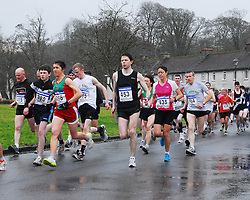 On their way at the start of the Westport 5km Road Race part of the C&C Cellular Mayo AC League.