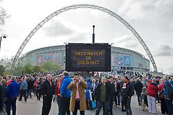 LONDON, ENGLAND - Saturday, April 14, 2012: Wembley Way before the FA Cup Semi-Final match between Liverpool and Everton at Wembley. (Pic by David Rawcliffe/Propaganda)