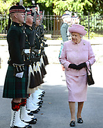 Queen Elizabeth Starts Scottish Holiday