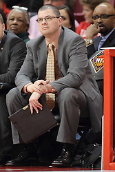 18 March 2015:  Rick Karius during an NIT men's basketball game between the Green Bay Phoenix and the Illinois State Redbirds at Redbird Arena in Normal Illinois