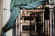 Napoli, Italia - Una veduta  dell'interno  della chiesa di Santa Maria del Popolo agli Incurabili a Napoli. <br /> Ph. Roberto Salomone Ag. Controluce<br /> ITALY - A view  the inside of the    church of Santa Maria delle Grazie agli Incurabili in Naples on July 25, 2013.