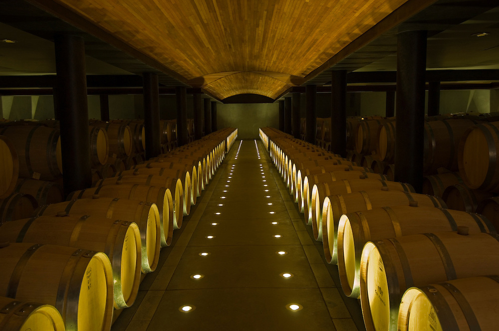 Casa Lapostolle Winery. Chile.