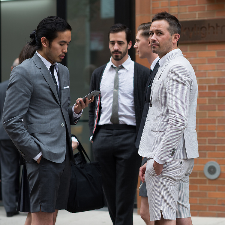 Shorts Suits, Outside Thom Browne