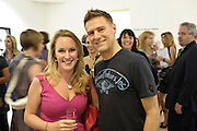 KATIE BANKS; BRYAN ADAMS, Hear the World Ambassadors Ð An Exhibition of Photography by Bryan Adams , The Saatchi Gallery. Sloane sq. London. 21 July 2009. Hear the World - an initiative by Phonak, aims to raise international awareness about hearing and hearing loss<br /> KATIE BANKS; BRYAN ADAMS, Hear the World Ambassadors ? An Exhibition of Photography by Bryan Adams , The Saatchi Gallery. Sloane sq. London. 21 July 2009. Hear the World - an initiative by Phonak, aims to raise international awareness about hearing and hearing loss
