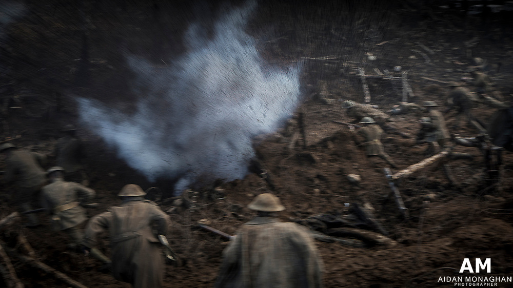 The Lost City of Z - WWI Battle 'Over the Top'