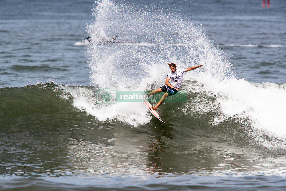 Ricardo Christie of New Zeland advances to round 4 after placing first in round 3 heat 7 ​of the 2018 Hawaiian Pro at Haleiwa, Oahu, Hawaii, USA.