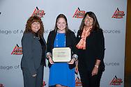 Freshmen and Transfer Student scholarship reception.<br />  Martha Burger Endowed FFA Leadership Scholars presented to Piper Merritt