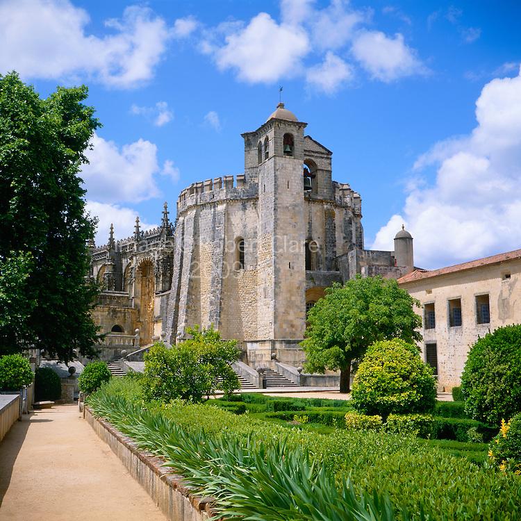 Southern Europe Portugal  Ribatejo Tomar Convento de Christo