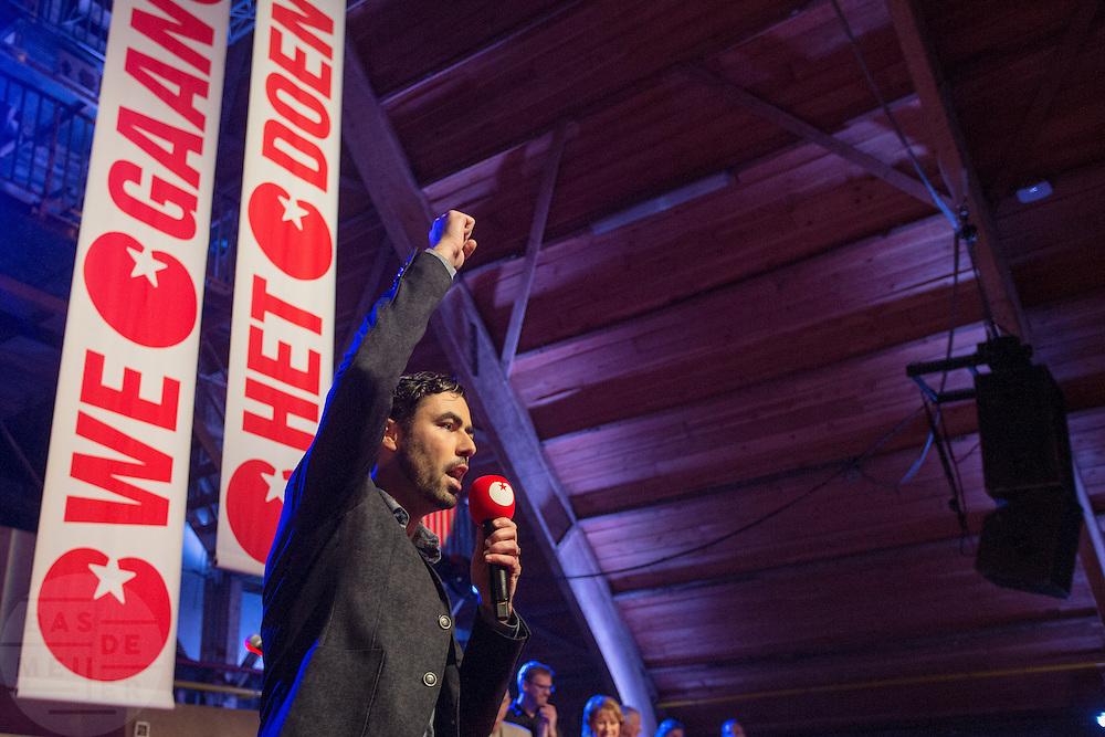 Ron Meyer is verkozen tot nieuwe voorzitter. In Utrecht wordt het congres van de Socialistische Partij (SP) gehouden. Belangrijk agendapunt is het kiezen van een nieuw bestuur en partijvoorzitter.<br /> <br /> In Utrecht the Socialist Party SP has its congress. Important issue is the election of the new board and chairman.
