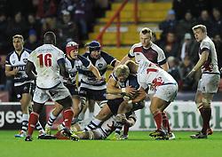 - Photo mandatory by-line: Dougie Allward/JMP - Mobile: 07966 386802 - 05/12/2014 - SPORT - Rugby - Bristol - Ashton Gate - Bristol Rugby v London Scottish - B&I Cup