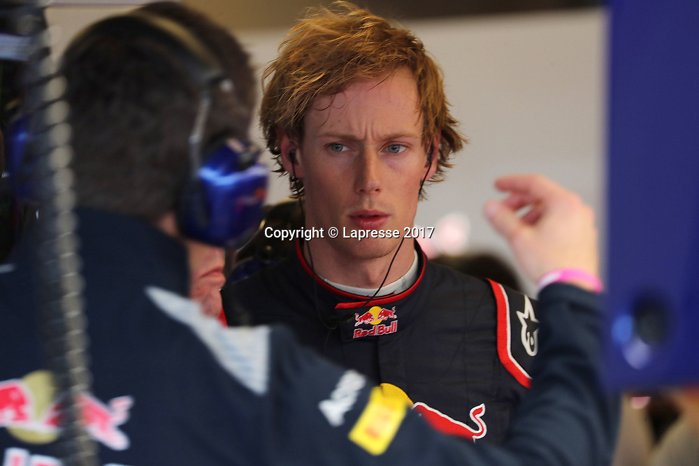 &copy; Photo4 / LaPresse<br /> 20/10/2017 Austin, USA<br /> Sport <br /> Grand Prix Formula One USA 2017<br /> In the pic: Brendon Hartley (NZE) Scuderia Toro Rosso STR12