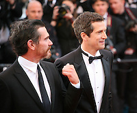 Actor Billy Crudup and Director, Guillaume Canet, at the Blood Ties film gala screening at the Cannes Film Festival Monday 20th May 2013