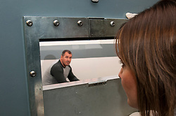 Prisoner being held in police cells