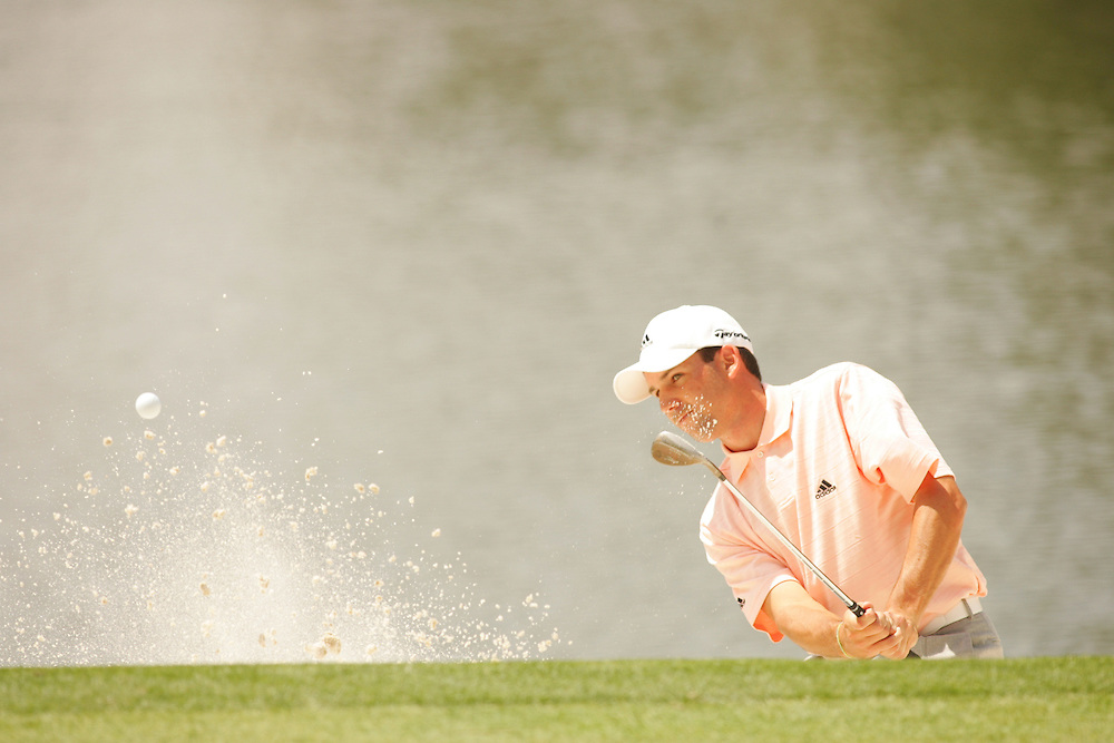 Sergio Garcia..2005 Masters Tournament.Par 3 Contest.Augusta National GC.Augusta GA.Wednesday, April 6 2005..photograph by Darren Carroll..04-07-05...