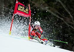 "Ragnhild Mowinckel (NOR) competes during 1st Run of the FIS Alpine Ski World Cup 2017/18 5th Ladies' Giant Slalom race named ""Golden Fox 2018"", on January 6, 2018 in Podkoren, Kranjska Gora, Slovenia. Photo by Ziga Zupan / Sportida"