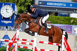 Kirchhoff Ulrich (UKR) - Carlina<br /> Furusiyya FEI Nations Cup Jumping Final Round 1<br /> CSIO Barcelona 2013<br /> © Dirk Caremans