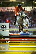 Leopold VAN ASTEN (NED) riding VDL Groep Beauty during the Nations Cup of the World Equestrian Festival, CHIO of Aachen 2018, on July 13th to 22th, 2018 at Aachen - Aix la Chapelle, Germany - Photo Christophe Bricot / ProSportsImages / DPPI