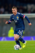 John Fleck (#14) of Scotland during the UEFA European 2020 Group I qualifier match between Scotland and Kazakhstan at Hampden Park, Glasgow, United Kingdom on 19 November 2019.