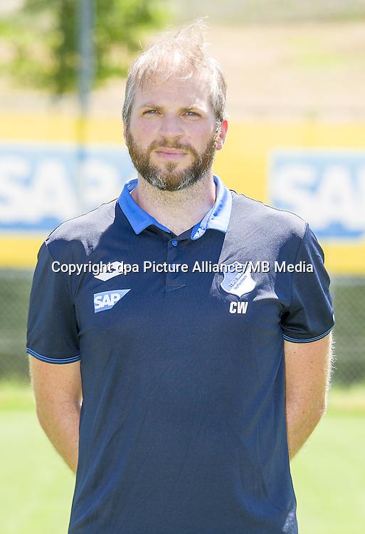 German Bundesliga - Season 2016/17 - Photocall 1899 Hoffenheim on 19 July 2016 in Zuzenhausen, Germany: Athletic coach Christian Weigl. Photo: APF | usage worldwide