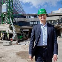 Nederland, Utrecht, 13 april 2017.<br />  Project Nieuwbouw Hoog Catharijne (NHC)<br /> Op de foto: Rob van Wingeren/CEO BAM<br /> <br /> <br /> <br /> <br /> Foto: Jean-Pierre Jans