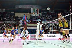 PAOLA EGONU<br /> PALLAVOLO VOLLEY SUPERCOPPA ITALIANA FEMMINILE 2017-2018<br /> IGOR GORGONZOLA NOVARA - IMOCO VOLLEY CONEGLIANO<br /> NOVARA 01-11-2017<br /> FOTO GALBIATI - RUBIN