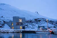 Visitor Center at Borgarfjörður Eystri, East fiords of Iceland.