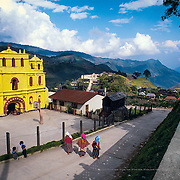 San Mateo de Ixtatán. Guatemala