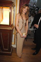 JEMIMA KHAN at the Ark 2007 charity gala at Marlborough House, Pall Mall, London SW1 on 11th May 2007.<br />