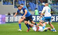 Guilhem GUIRADO - 15.03.2015 - Rugby - Italie / France - Tournoi des VI Nations -Rome<br /> Photo : David Winter / Icon Sport
