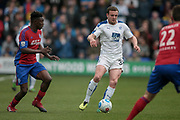 James Wallace (Tranmere Rovers) during the Vanarama National League second leg play off match between Tranmere Rovers and Aldershot Town at Prenton Park, Birkenhead, England on 6 May 2017. Photo by Mark P Doherty.