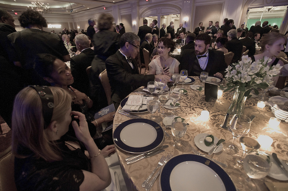 Washington, DC (May  15, 2010) -- Veteran and military members of the Washington, DC district attend the White House News Photographers Association Awards Gala at the Ritx Carlton in Washington, DC  Photo by Johnny Bivera