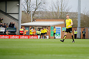 Burton Albion striker Marvin Sordell (9) scores a goal 2-1 and celebrates during the EFL Sky Bet Championship match between Burton Albion and Brentford at the Pirelli Stadium, Burton upon Trent, England on 18 March 2017. Photo by Richard Holmes.