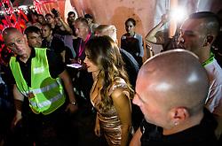 Security for Croatian singer Severina Vuckovic in backstage during Music concert in Portoroz, on July 22, 2017 at Plaza Portoroz, Slovenia. Photo by Vid Ponikvar / Sportida