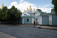 Тестовый кадр камерой Pentax K-1. Вид на Михайловский Собор в Киеве. Функция Pixel Shift Resolution включена (режим 1).
