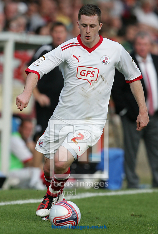 Picture by Paul Terry/Focus Images Ltd..24/9/11.Scott Davies of Crawley during the Npower League 2 match at The Recreation Ground, Aldershot.