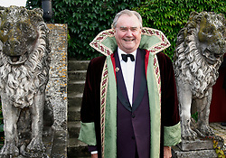 File photo - Honoree Prince Henrik of Denmark, wearing a special coat, poses during the Chateau Smith Haut Laffite Flower Party held at Martillac, near Bordeaux, France on June 21, 2007. Prince Henrik, the French-born husband of Denmark's Queen Margrethe II, has died, the palace announced Wednesday. He was 83. Photo by ABACAPRESS.COM