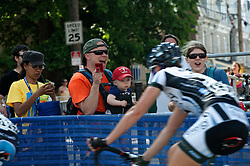 Philadelphia's revamped bike race, the Parx Casino Philly Cycling Classic features a new route with a new Start/Finish line at the top of The Wall in Roxborough. (Bas Slabbers/for NewsWorks)