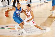 DESCRIZIONE : Bormio Ritiro Nazionale Italiana Maschile Preparazione Eurobasket 2007 Amichevole Italia Turchia GIOCATORE : Daniel Lorenzo Hackett <br /> SQUADRA : Nazionale Italia Uomini <br /> EVENTO : Bormio Ritiro Nazionale Italiana Uomini Preparazione Eurobasket 2007 <br /> GARA : Italia Turchia<br /> DATA : 29/07/2007 <br /> CATEGORIA : Palleggio<br /> SPORT : Pallacanestro <br /> AUTORE : Agenzia Ciamillo-Castoria/G.Cottini