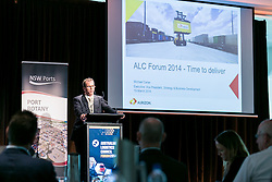 Mr Mike Carter, Executive VP Strategy & Business Development, Aurizon. ALC Forum 2014. Day 1. Australian Logistics Council. Royal Randwick Racecourse. Sydney. Photo: Pat Brunet/Event Photos Australia